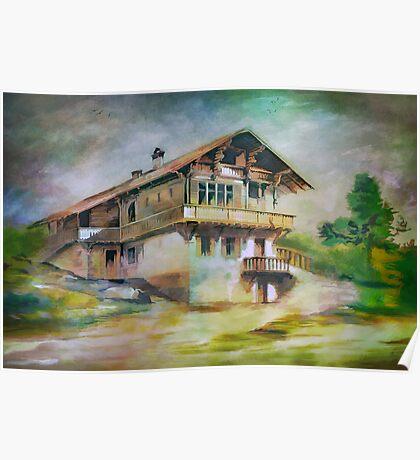 German cottage..... Poster