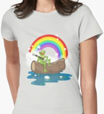 The Rainbow Connection Women's Fitted T-Shirt