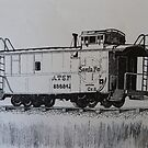 Caboose by Sally Sargent