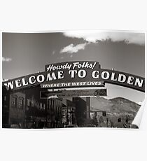 Welcome to Golden Poster