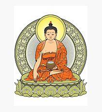 buddha color Photographic Print