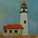 Cape Blanco Light by Sally Sargent