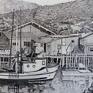 Monterey Wharf by Sally Sargent