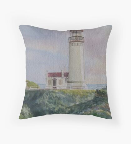 North Head Lighthouse Throw Pillow
