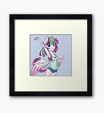 Anthro Blossomforth Framed Print