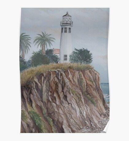 Pt Vicente Lighthouse Poster