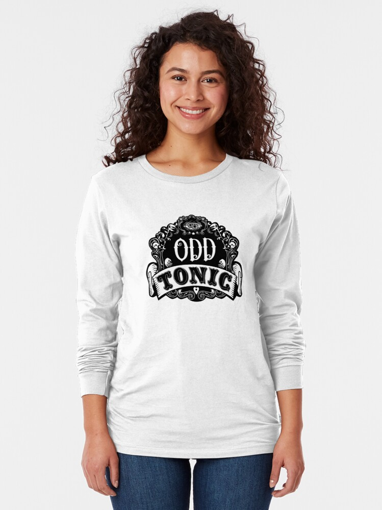 Alternate view of Odd Tonic Official Logo NON-BLACK Merch Long Sleeve T-Shirt