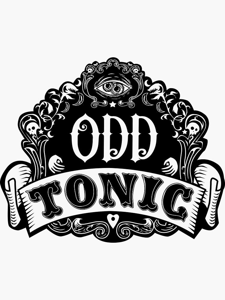 Odd Tonic Official Logo NON-BLACK Merch by OddTonic