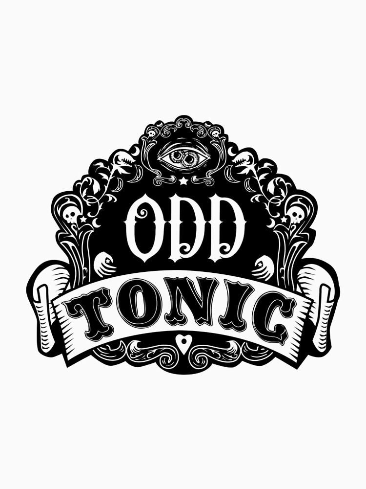 Odd Tonic Official Logo NON-BLACK Merch by OddTonic