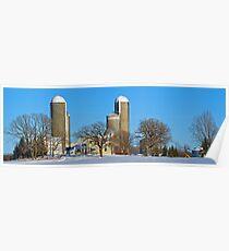 Rural Pillars Poster