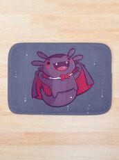 Halloween Axolotl - Vampire! Bath Mat