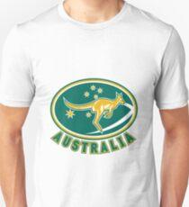 Rugby Wallabies Kangaroo Australia T-Shirt