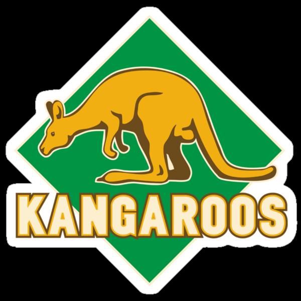 Rugby Kangaroos Australia by patrimonio
