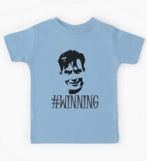 Charlie Sheen Is Winning Kids Tee