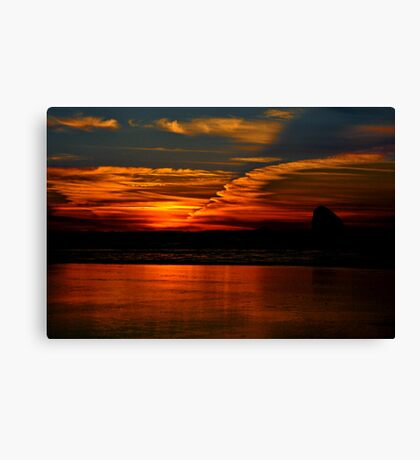 ALL OREGON Canvas Print
