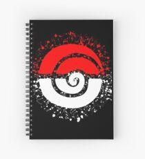 Splattered Tribalish Pokeball! Spiral Notebook