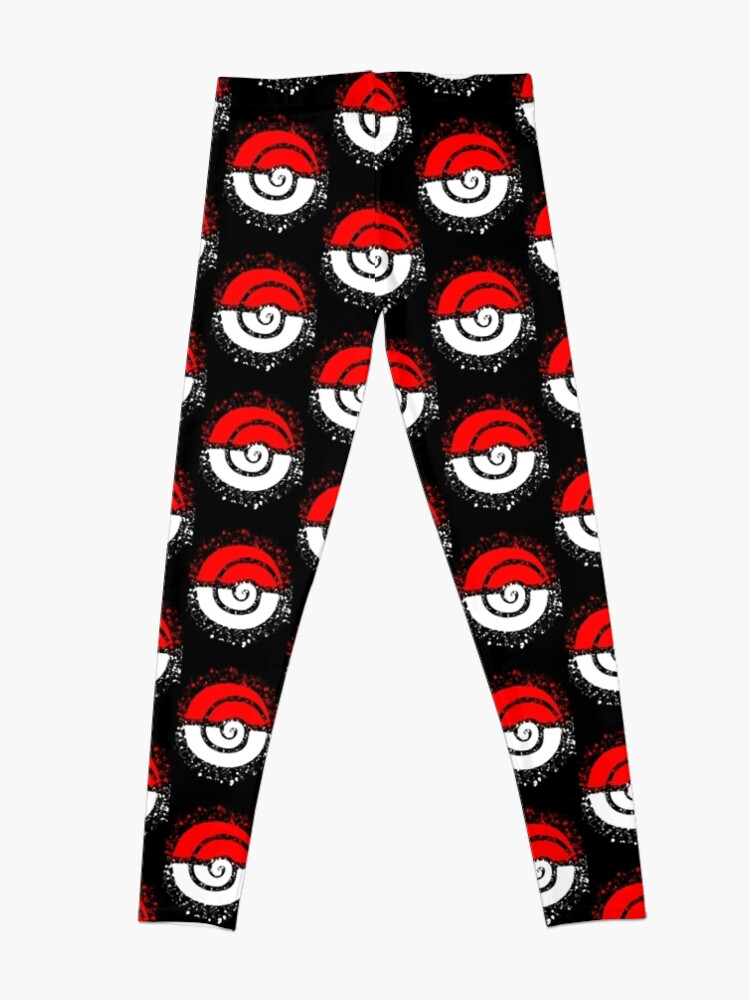Alternate view of Splattered Tribalish Pokeball! Leggings
