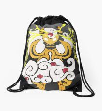 Tribalish Mega Ampharos - Eye of the Storm Drawstring Bag