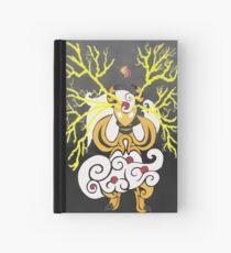 Tribalish Mega Ampharos - Eye of the Storm Hardcover Journal