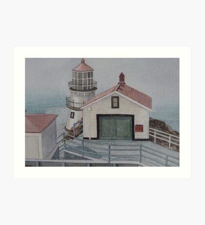 Pt. Reyes Lighthouse Art Print