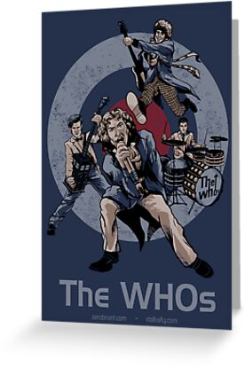 The WHOs by rtofirefly