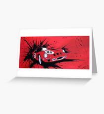 250GTO #21 Painting Greeting Card