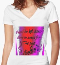 """""""Ella's Tattoo"""" - Colour Clothing Women's Fitted V-Neck T-Shirt"""
