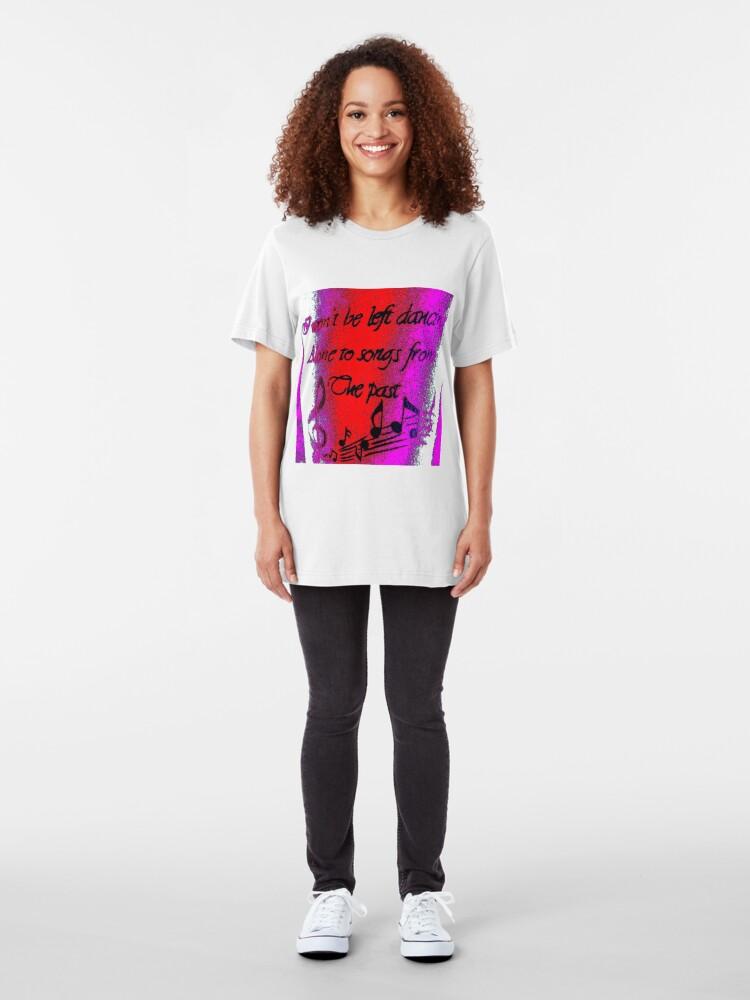 "Alternate view of ""Ella's Tattoo"" - Colour Clothing Slim Fit T-Shirt"
