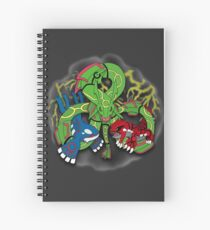 Rayquaza, Kyogre, & Groudon - Hoenn Remake Ahoy! Spiral Notebook