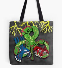 Rayquaza, Kyogre, & Groudon - Hoenn Remake Ahoy! Tote Bag