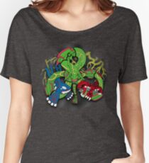 Rayquaza, Kyogre, & Groudon - Hoenn Remake Ahoy! Relaxed Fit T-Shirt