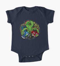 Rayquaza, Kyogre, & Groudon - Hoenn Remake Ahoy! Short Sleeve Baby One-Piece