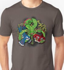 Rayquaza, Kyogre, & Groudon - Hoenn Remake Ahoy! Slim Fit T-Shirt