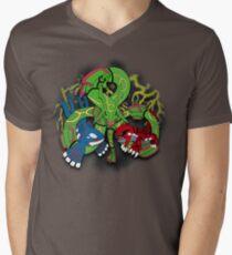 Rayquaza, Kyogre, & Groudon - Hoenn Remake Ahoy! V-Neck T-Shirt