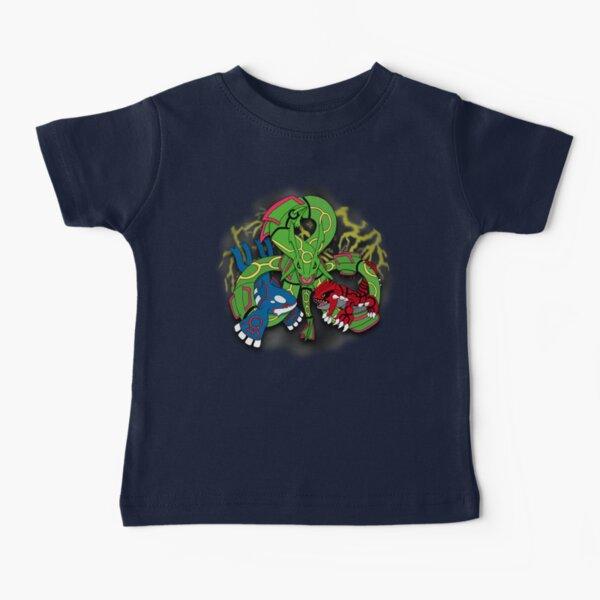 Rayquaza, Kyogre, & Groudon - Hoenn Remake Ahoy! Baby T-Shirt