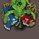 Rayquaza, Kyogre, & Groudon - Hoenn Remake Ahoy! by vaguelygenius