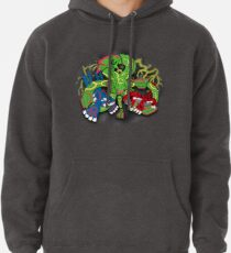 Rayquaza, Kyogre, & Groudon - Hoenn Remake Ahoy! Pullover Hoodie