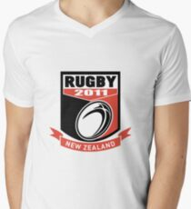 new zealand 2011 rugby ball and shield T-Shirt