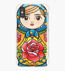 russian nesting doll iPhone Case/Skin