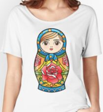 russian nesting doll Women's Relaxed Fit T-Shirt