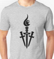 Black Celestial Torch Logo Unisex T-Shirt