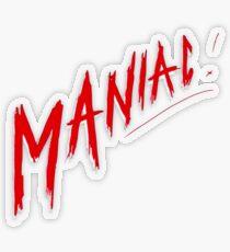 Maniac! Conan Gray Design Transparent Sticker