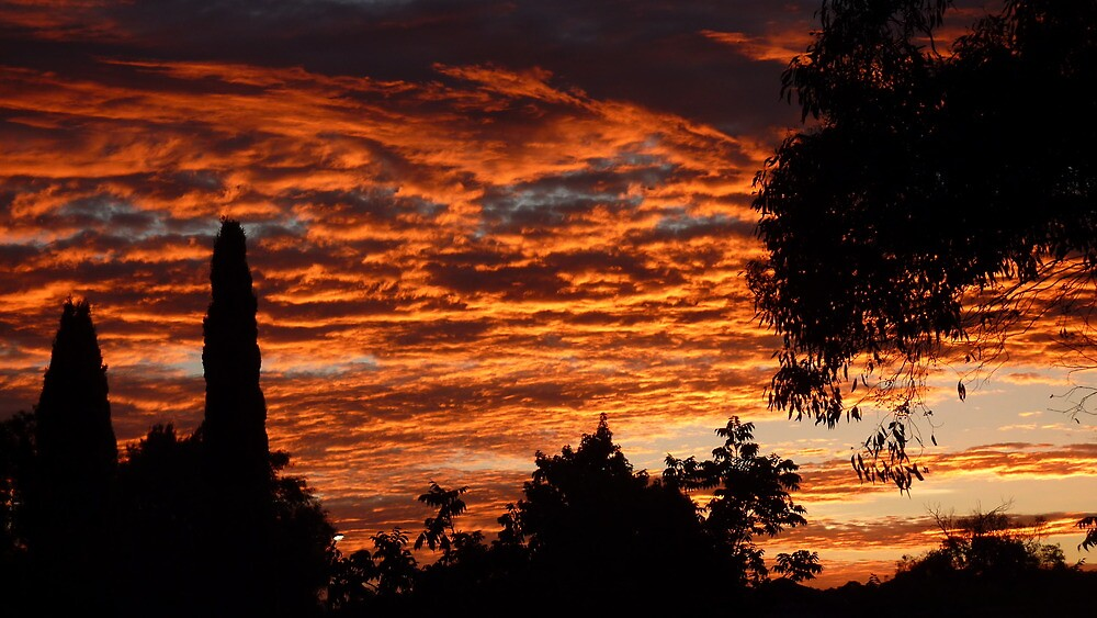 Awesome Sunrise Canberra by Deirdreb