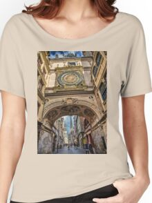 France. Normandy. Rouen. The Great Clock. Women's Relaxed Fit T-Shirt