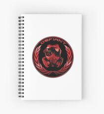 Defiant - HK Spiral Notebook