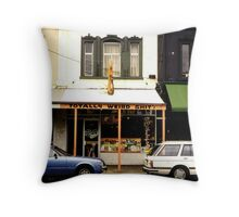 Funny Store Front Throw Pillow