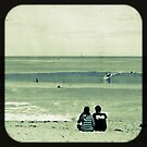 Watching the Surf by pennyswork