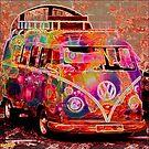 Hippie VW Van by Michael Todd