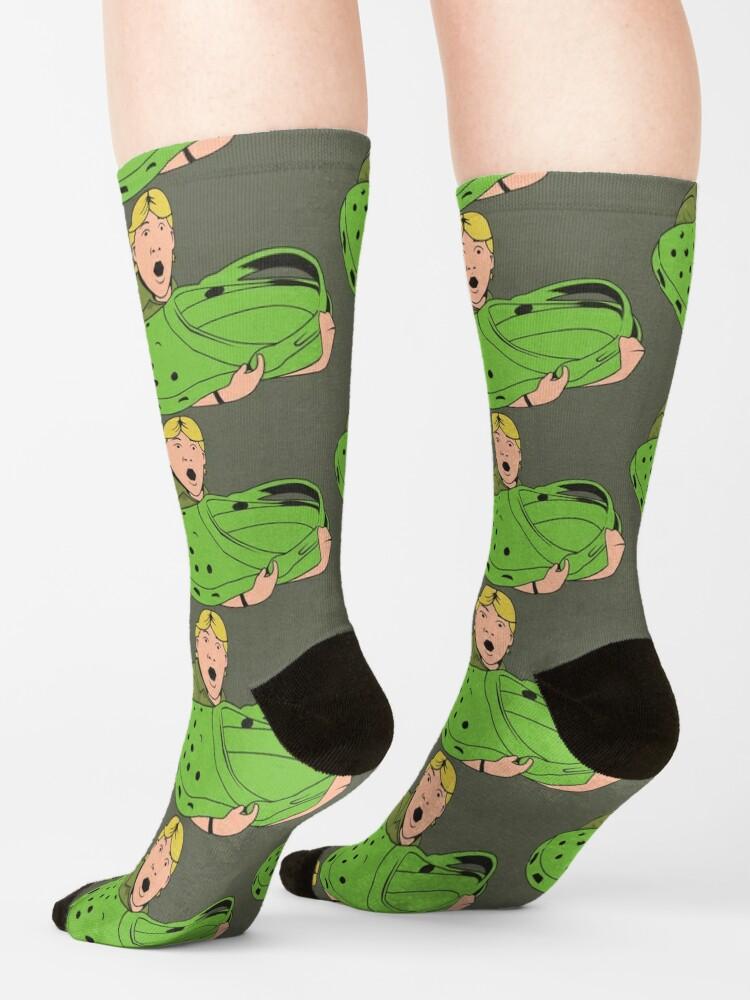 Alternate view of Crikey! Socks