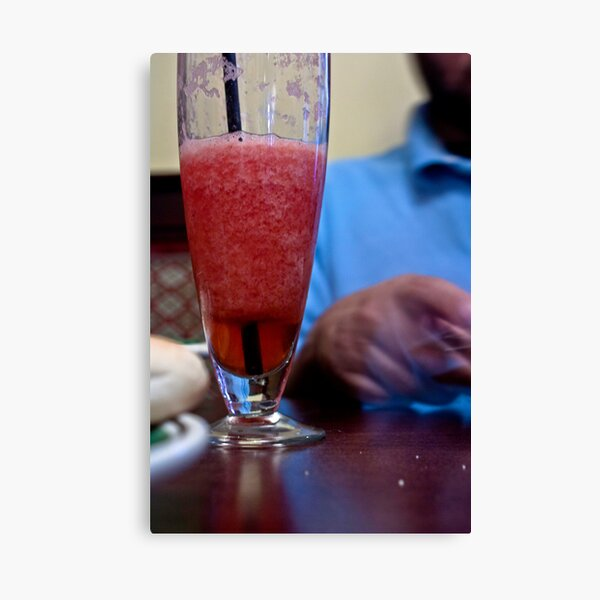 An Intimate Drink... Canvas Print